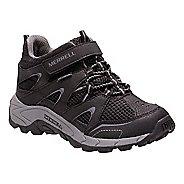 Kids Merrell Hilltop Mid Quick Close Waterproof Hiking Shoe