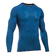 Mens Under Armour HeatGear Graphic Long Sleeve Technical Tops