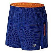 "Mens New Balance Impact 5"" Track Lined Shorts"