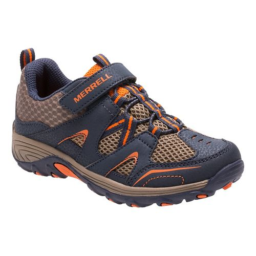 Kids Merrell Trail Chaser Hiking Shoe - Navy 13C