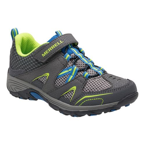 Kids Merrell Trail Chaser Hiking Shoe - Grey 4.5Y