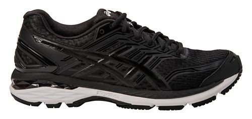 Mens ASICS GT-2000 5 Running Shoe - Black/White 12