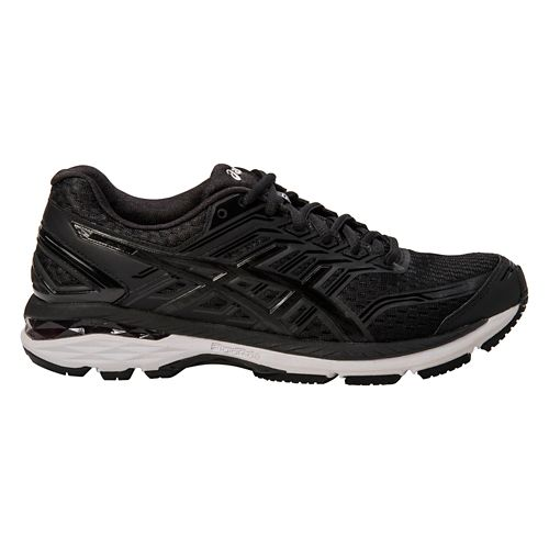 Mens ASICS GT-2000 5 Running Shoe - Black/White 11