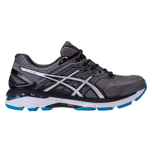 Mens ASICS GT-2000 5 Running Shoe - Carbon/Silver 12.5