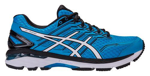 Mens ASICS GT-2000 5 Running Shoe - Carbon/Silver 10