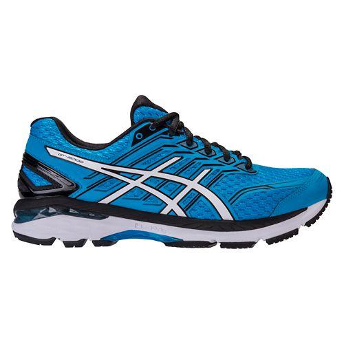 Mens ASICS GT-2000 5 Running Shoe - Blue/Black 6.5