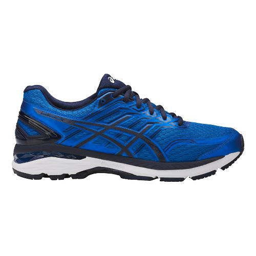 Mens ASICS GT-2000 5 Running Shoe - Blue/White 10.5
