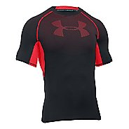 Mens Under Armour HeatGear Graphic Short Sleeve Technical Tops