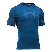 Mens Under Armour HeatGear Graphic Short Sleeve Technical Tops
