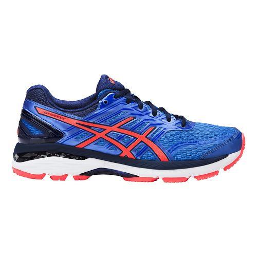 Womens ASICS GT-2000 5 Running Shoe - Blue/Coral 9