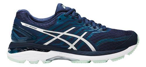 Womens ASICS GT-2000 5 Running Shoe - Grey/Pink 13