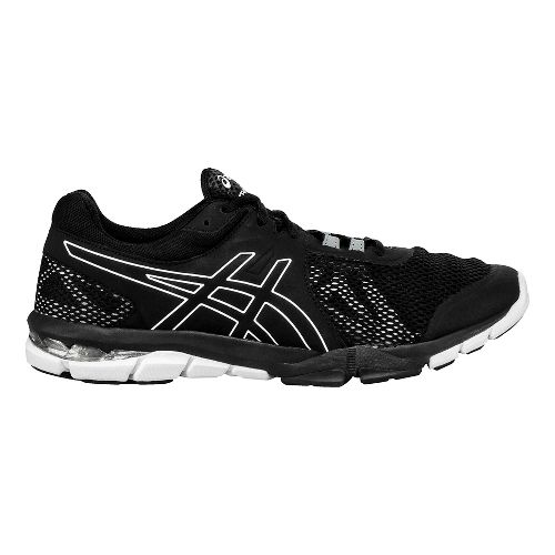 Mens ASICS GEL-Craze TR 4 Cross Training Shoe - Black/White 7.5