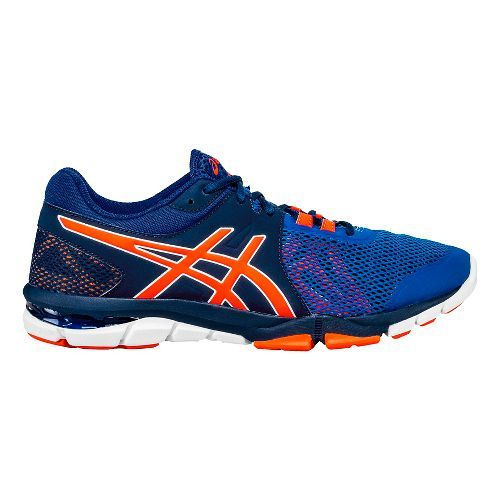 Mens ASICS GEL-Craze TR 4 Cross Training Shoe - Blue/Orange 7.5