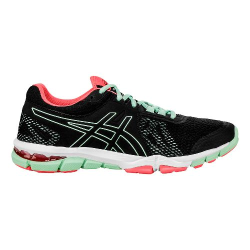 Womens ASICS GEL-Craze TR 4 Cross Training Shoe - Black/Mint 6.5