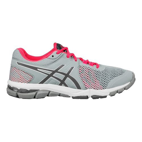 Womens ASICS GEL-Craze TR 4 Cross Training Shoe - Grey/Pink 6.5