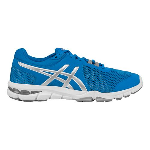 Womens ASICS GEL-Craze TR 4 Cross Training Shoe - Blue/Silver 7.5