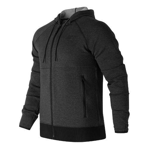 Mens New Balance Sport Style Full Zip Casual Jackets - Black S