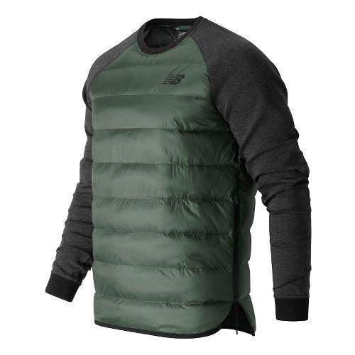 Mens New Balance Sport Style Down Hoodie & Sweatshirts Technical Tops - Grove XL