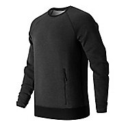 Mens New Balance Sport Style Crew Long Sleeve Technical Tops