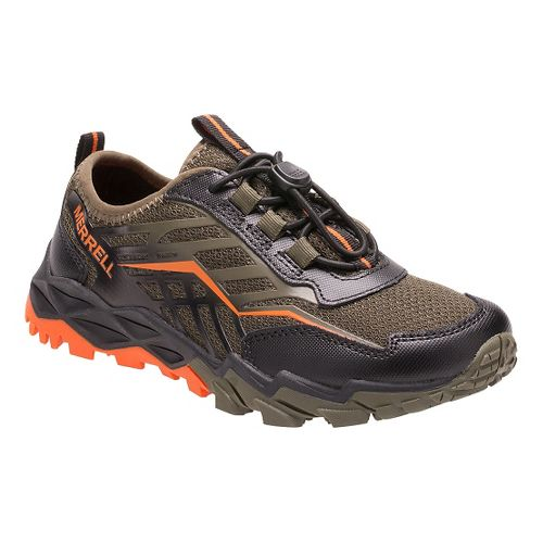 Kids Merrell Hydro Run Hiking Shoe - Olive 10.5C