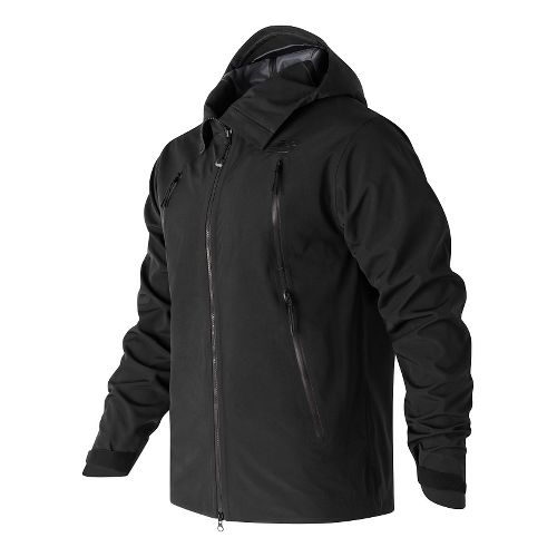 Mens New Balance 3 Layer Cold Weather Jackets - Black L