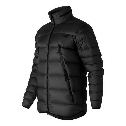 Mens New Balance Down Cold Weather Jackets - Black L