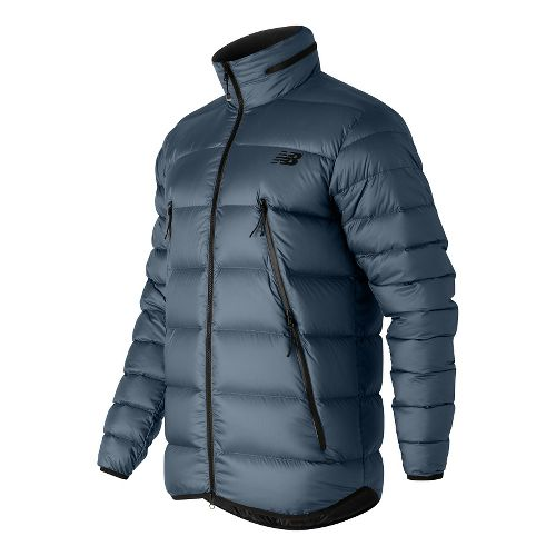 Mens New Balance Down Cold Weather Jackets - Galaxy L