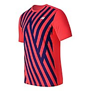 Mens New Balance Brunton Crew Short Sleeve Technical Tops