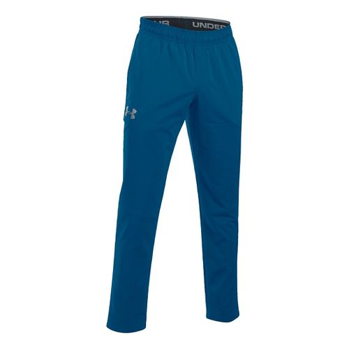 Mens Under Armour Hit Woven Pants - Heron MR