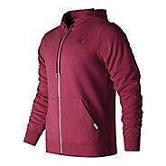 Mens New Balance Classic Full Zip Fleece Hoodie Casual Jackets