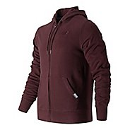 Mens New Balance Classic Full Zip Fleece Hoodie Casual Jackets