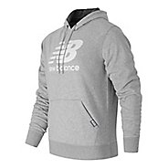 Mens New Balance Classic Pullover Half-Zips & Hoodies Technical Tops