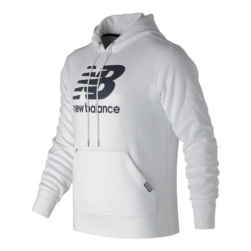 Mens New Balance Classic Pullover Half-Zips & Hoodies Technical Tops - White L