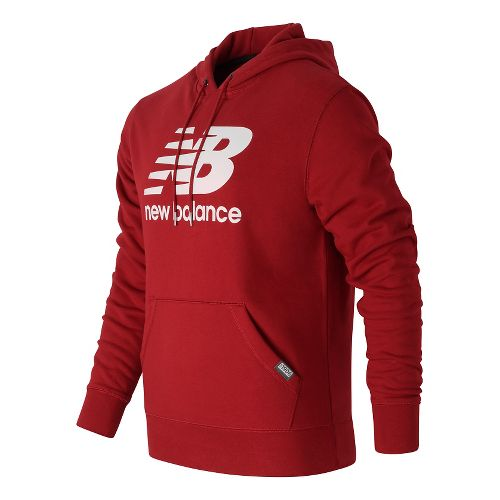 Mens New Balance Classic Pullover Hoodie & Sweatshirts Technical Tops - Envy S