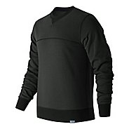 Mens New Balance Classic Crew Neck Hoodie & Sweatshirts Technical Tops