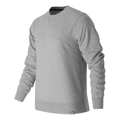 Mens New Balance Classic Crew Neck Sweatshirt Half-Zips & Hoodies Technical Tops - Athletic ...