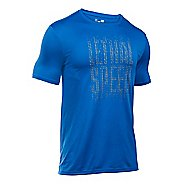 Mens Under Armour Lethal Speed Short Sleeve Technical Tops