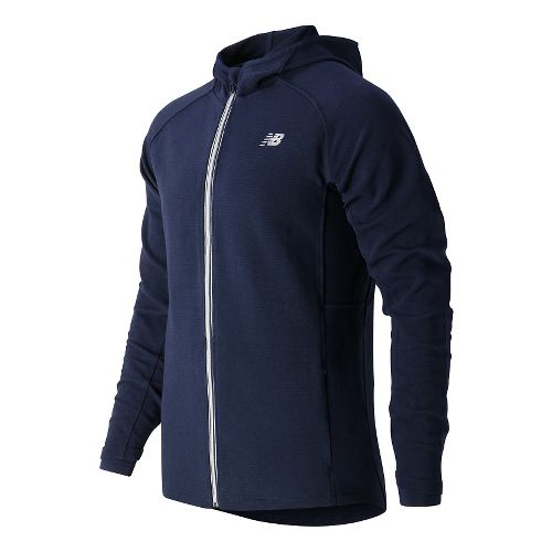 Mens New Balance Tournament Hooded Casual Jackets - Aviator L