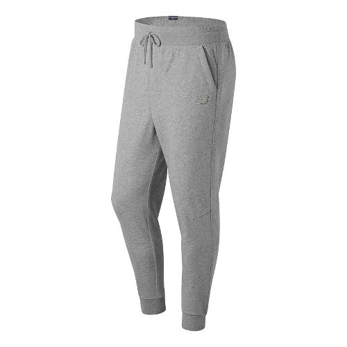 Mens New Balance Classic Tailored Sweatpants - Athletic Grey L