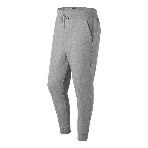 Mens New Balance Classic Tailored Sweatpants - Athletic Grey M
