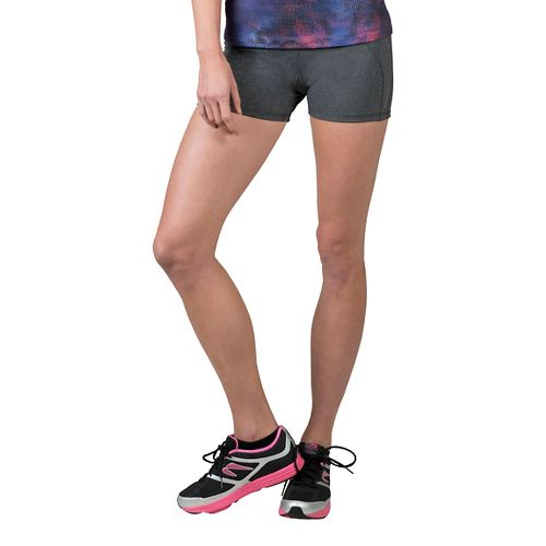 Womens Soybu Killer Caboose Short Compression & Fitted Shorts - Charcoal L