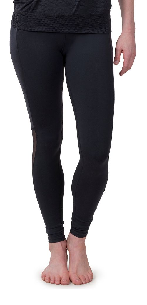 Womens Soybu Killer Caboose Hi-Rise Tights & Leggings Pants - Black M