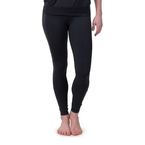 Womens Soybu Killer Caboose Hi-Rise Tights & Leggings Pants - Black L