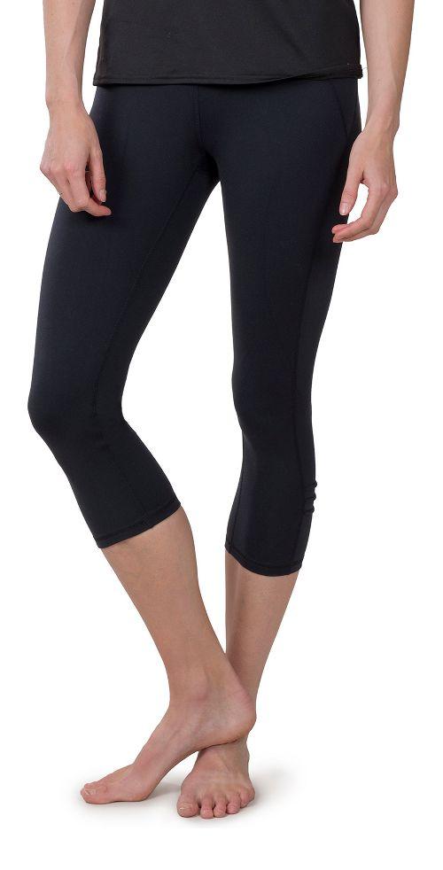 Womens Soybu Killer Caboose Capris Pants - Black XS