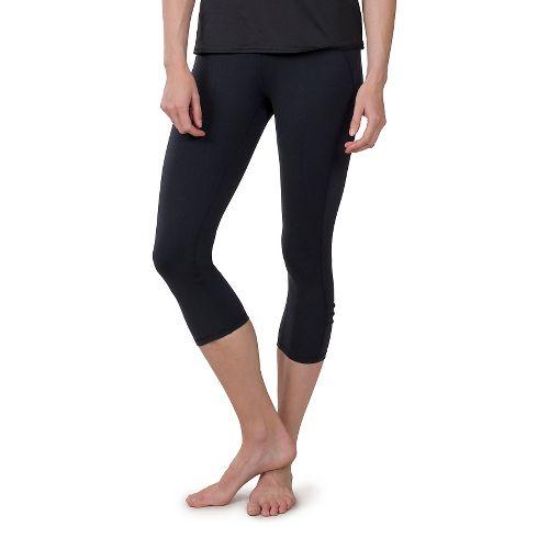 Womens Soybu Killer Caboose Capris Pants - Black M