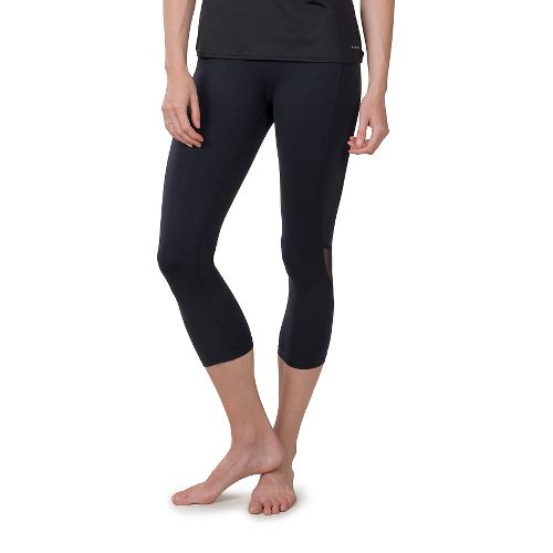 Womens Soybu Killer Caboose Hi-Rise Capris Pants - Black XS