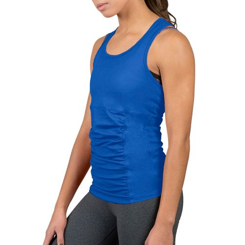 Womens Soybu Challenge Sleeveless & Tank Technical Tops - Led Blue M