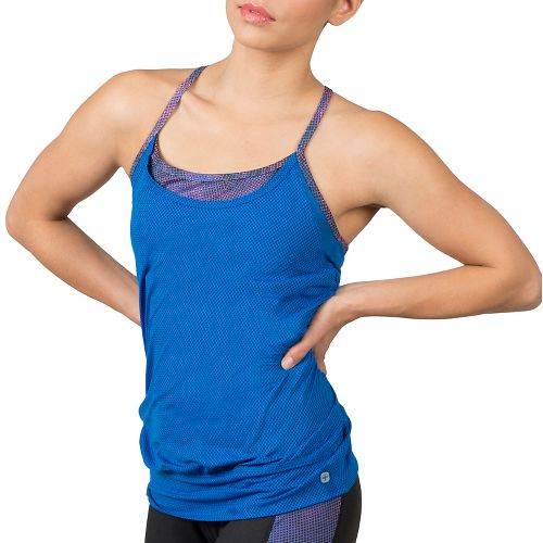 Womens Soybu Aria Sleeveless & Tank Technical Tops - Galaxy XL