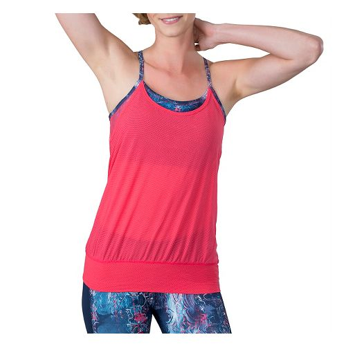 Womens Soybu Aria Sleeveless & Tank Technical Tops - Hidden River M