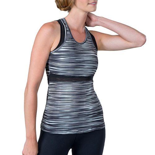 Womens Soybu Koa Sleeveless & Tank Technical Tops - Black Wave XL